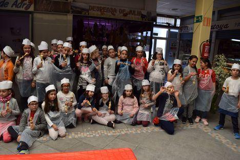 Alumnos Del CEIP José Saramago En Los Talleres De 'Mi Mercado Me Gusta'