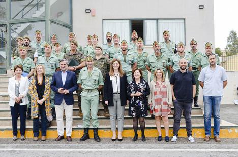 Diputación y Fuerzas Armadas juntos contra las drogas en el Ejército