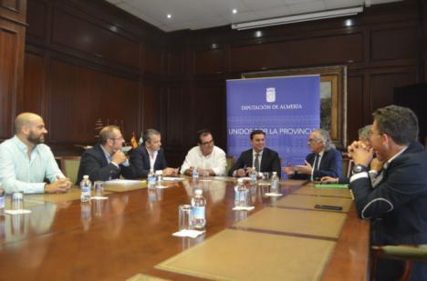 Colaboración entre el Hospital Universitario Torrecárdenas y Diputación