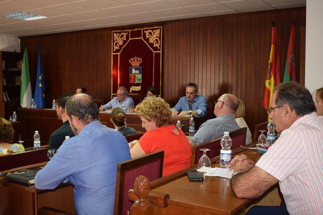La Mociones Centran El Debate Del Primer Pleno Del Nuevo Curso Político En Vícar