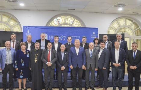 Visita delegación de Rumanía a Diputación