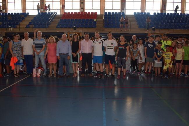 Alta participación en el I Torneo Juegos Escolares Intercentros de Vícar