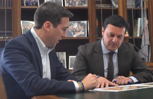 Diputación renovará los accesos al entorno deportivo del Puente Viejo de Turre