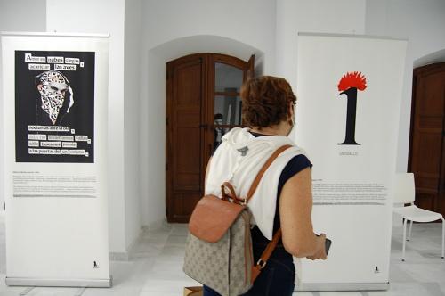 Muestra de poesía visual en Berja