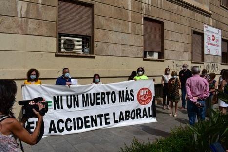 UGT y CCOO exigen un Plan de Choque contra la siniestralidad laboral en Almería
