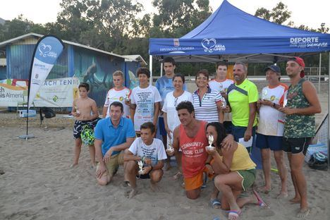 El Circuito de Promoción de Tenis Playa de Diputación se despide en Mojácar
