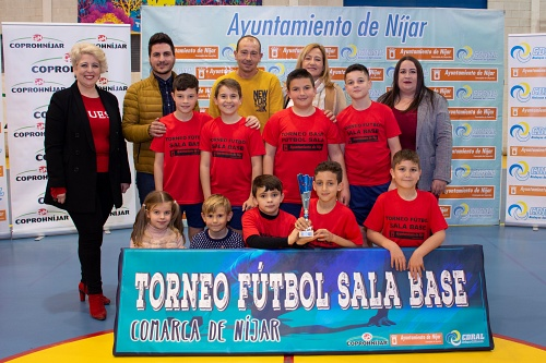 El Torneo de Fútbol Sala del 28F congrega a mas de 250 niños nijareños