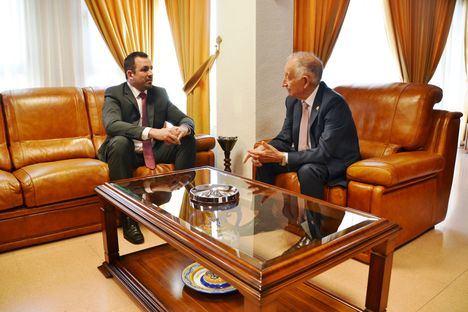 El alcalde de Roquetas se reúne con el nuevo director de la ONCE en El Ejido