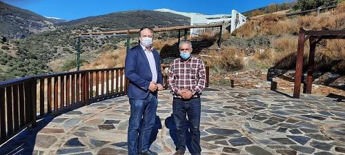 El área recreativa Talama y espacios públicos de Bayárcal reciben fondos de la Junta