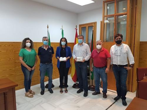 La Junta ayuda a Benahadux a luchar contra el #COVID19