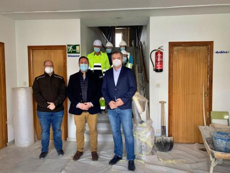 La Junta ayuda al Ayuntamiento de Macael a crear un vivero de empresas