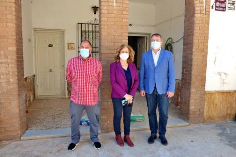 La Junta ayuda a reformar el ambulatorio médico de Santa Fe de Mondújar