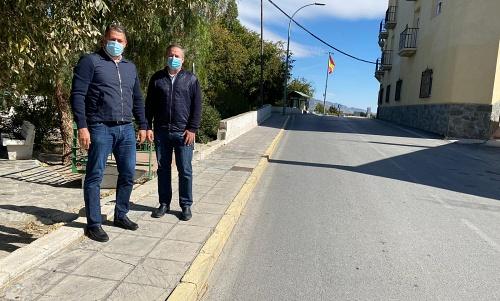 La Junta destina 61.425 euros a reformas municipales en Tíjola