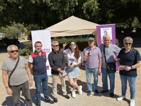 Jornada informativa de Podemos en la UAL