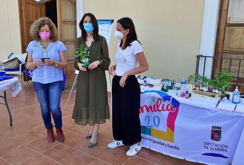 Diputación celebra el Día Internacional del Medio Ambiente con las familias de Santa Fe y Bentarique