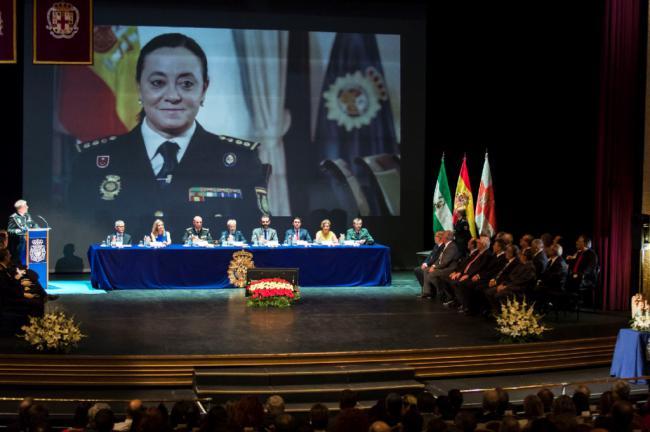 Diputación en los actos Día de la Policía 2019