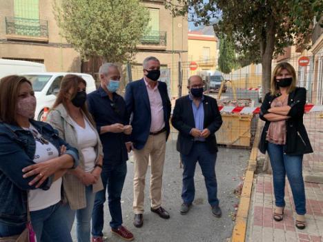 Delegado de Salud visita la reforma y ampliación del Centro de Salud de Dalías