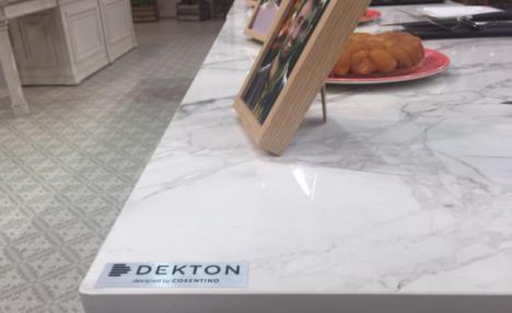Dekton de Cosentino en el programa más dulce de la televisión