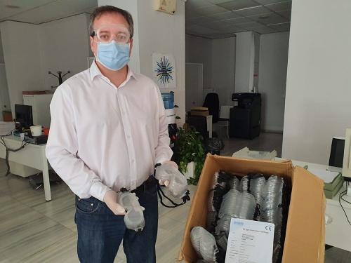 Justicia adquiere 400 gafas protectoras y 100 máscaras faciales para juzgados de Almería
