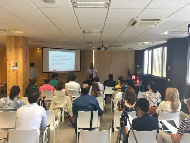 Innovador almeriense del programa Guadalinfo Impulsa presenta su proyecto de negocio a inversores y expertos