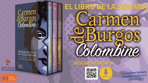 Diputación acerca a los almerienses la mayor colección de novelas de 'Carmen de Burgos'