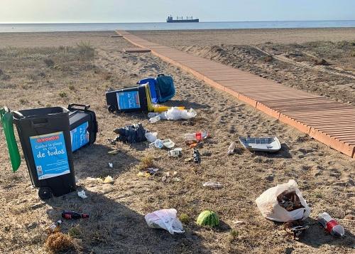 Policía Local de Vera impone más de 70 sanciones por botellones