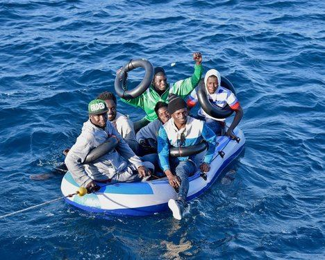 426 personas rescatadas en Alboran en 24 horas