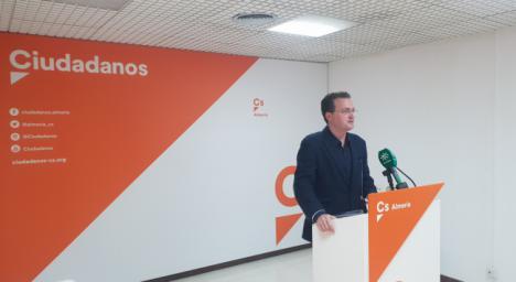 """Ciudadanos considera que los PGE son """"inverosímiles e imaginarios"""" para Almería"""