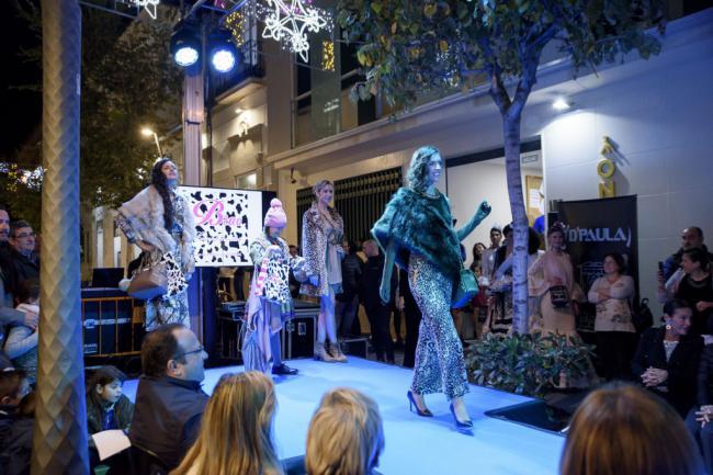 La moda de Almería para las fiestas en la Pasarela de Navidad