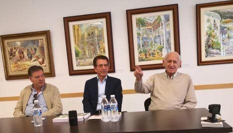 Alcudia inaugura la exposición dedicada al acuarelista almeriense Dionisio Godoy