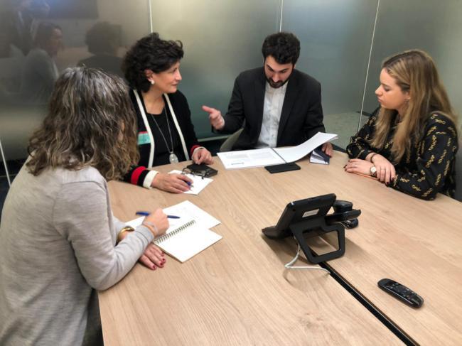 Diputación solicita a Bruselas inversiones para Almería en agua, energía y agricultura