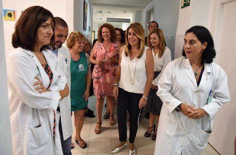 Susana Díaz avanza la puesta en marcha mañana de planes de empleo, que beneficiarán a 22.000 andaluces
