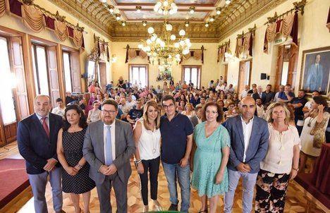 """Díaz apuesta por """"salarios dignos"""", """"precios justos"""" y """"relevo generacional"""" en el sector agroalimentario"""