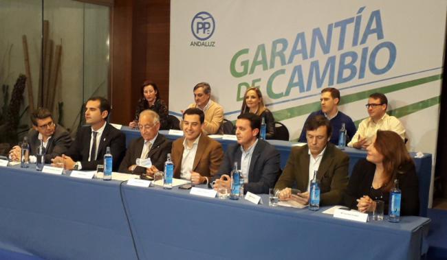 Juanma Moreno: 'A partir de ahora va a haber un presidente aliado de Almería'