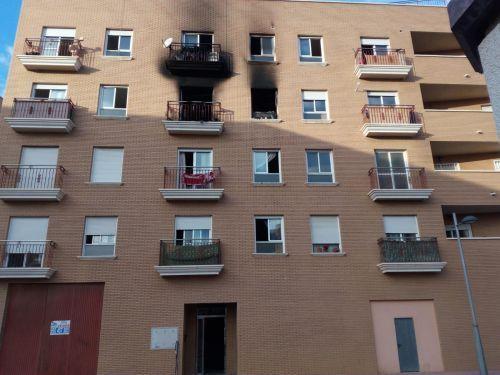 Trasladado a la Unidad de Grandes Quemados de Sevilla el herido de Cuevas