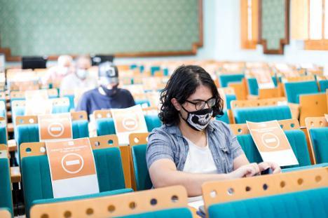 UNED Almería inicia los exámenes de la EBAU