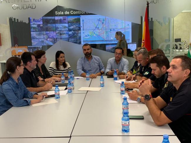 El alcalde de Almería muestra su pésame por el hombre fallecido por el temporal