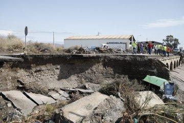Así están las carreteras de Almería tras el paso de DANA