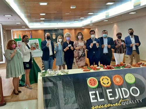 La ONCE presume de la 'Calidad Gourmet' de El Ejido en toda España