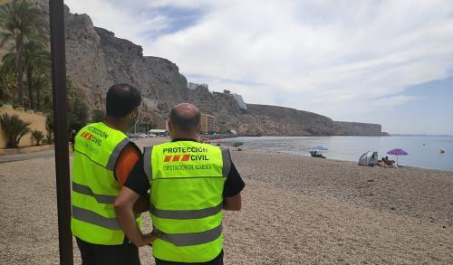 Protección Civil de Diputación diseña el plan de contingencia de playas frente al #COVID19