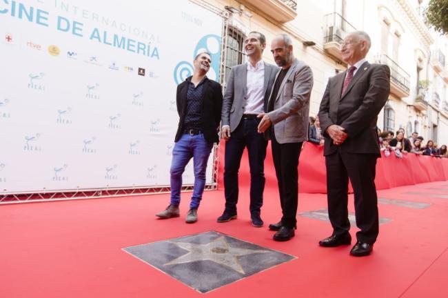 Luis Tosar se muestra encantado por el homenaje en la tierra de quienes le hicieron amar el cine