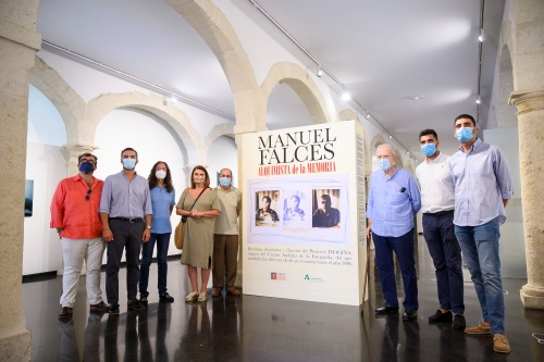 Manuel Falces en imágenes en el Centro Andaluz de la Fotografía