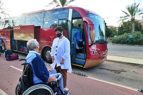 33 personas disfrutarán de vacaciones inclusivas con Diputación y Verdiblanca