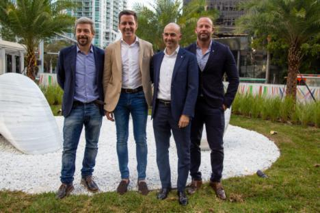 Cosentino y Pininfarina presentan Speedforms in the Garden en CASACOR MIAMI 2018