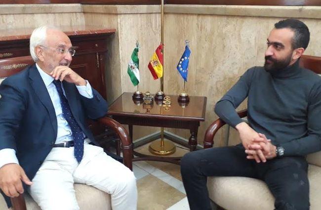 El subdelegado se reúne con el director general de la U.D. Almería