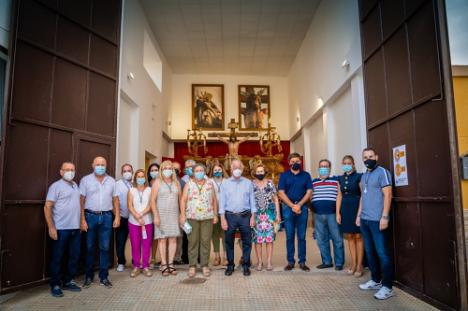 Puertas abiertas para visitar al Cristo del Mar en su Casa de Hermandad