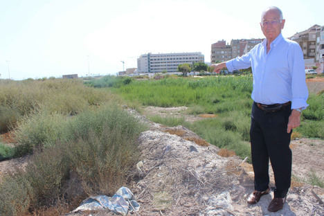 El alcalde anuncia la construcción de un puente que una la variante y la Avenida Reino de España de Las Salinas