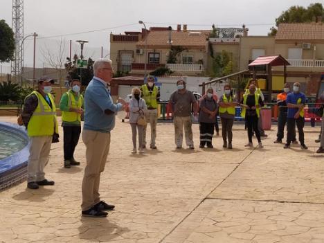 Huércal de Almería inicia el Plan de Empleo Municipal para personas vulnerables