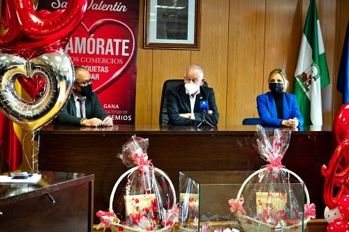 88 establecimientos sortearon 16 premios por San Valentín en Roquetas