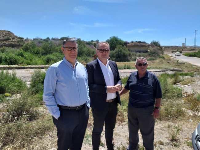 El Alcalde de Cuevas y el presidente de la CHS se han reunido